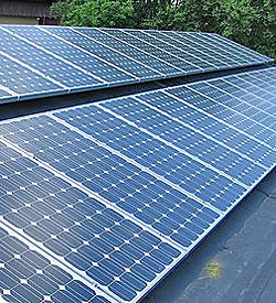 Renewable energy projects are in the works on campus