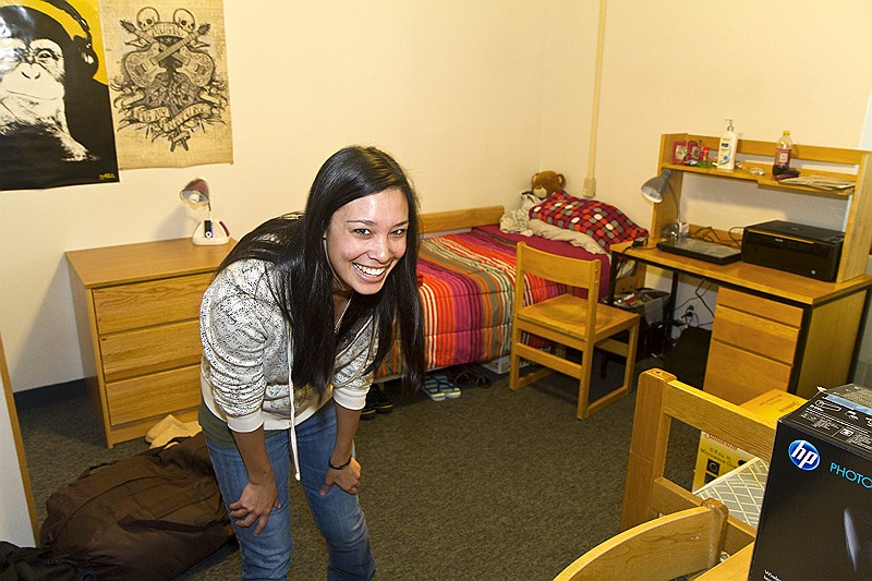 Welcome To UCSC Flags Student In Her Dorm Room ... Part 52