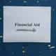 Financial aid sign