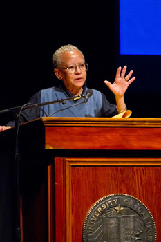 Nikki Giovanni Stirs Up Martin Luther King Jr Convocation Crowd