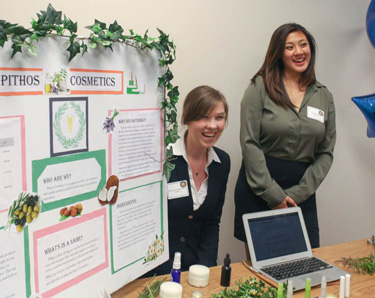Students present start-up plans at Silicon Valley showcase event