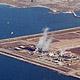 Salton Sea geothermal field, aerial view