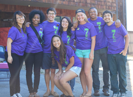 The Oakes College move-in volunteer team.