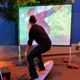 DataSurf, an installation by UC Santa Cruz Digital Arts and New Media (DANM) grads Drew De