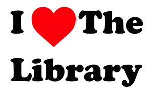 I (heart) the library