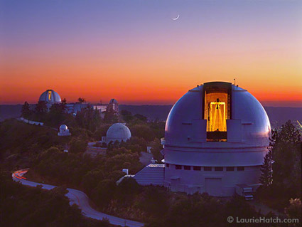 Lick observatory music