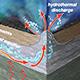 diagram of seafloor circulation