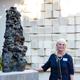 Coeleen Kiebert unveils her sculpture