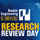 logo for research review day