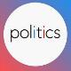 button says politics