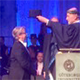 Karen Barad received an honorary doctorate in the Arts at the University of Gothenburg in