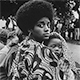 Ruth Marion Baruch, Mother and Child, Free Huey Rally, 1968 (Black Panther series)
