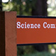 sign for science communication program