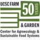 Logo of the Farm & Garden's 50th anniversary