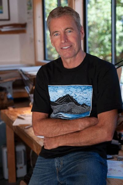 Artist Tom Killion (Cowell '75, history)