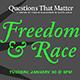 freedom and race banner uc santa cruz humanities
