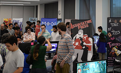 Showcase features student video games