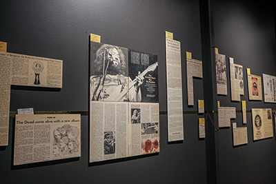 New exhibit opens at Grateful Dead Archive