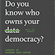 UC Santa  Cruz THI Data and Democracy poster