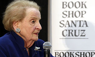 Albright warns of rising authoritarian governments