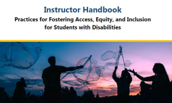 DRC publishes handbook for instructors