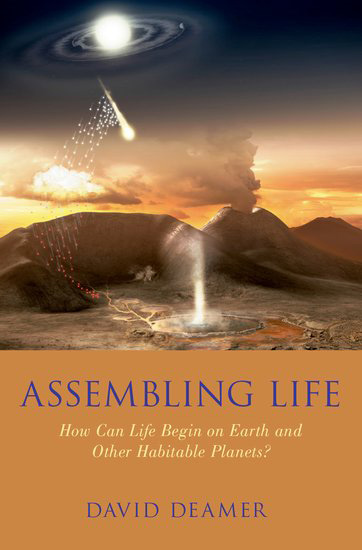 Book Cover Returns To Its Origins In >> New Book By Biochemist David Deamer Explores The Origins Of Life