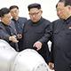 North Korean officials
