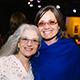 Cabrillo Festival Executive Director Ellen Primack (left) and The Humanities Institute Man