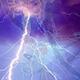lightning image in the night sky
