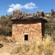 Photo of an ancient burial tower in the Andes