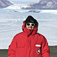 Graham Edwards at Taylor Glacier