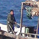 North Korean fishing boat