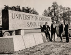 UCSC Signs - 50th Anniversary