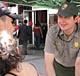 Yosemite ranger Mauricio Escobar