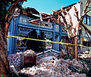 Pacific Ave. destruction