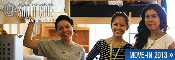 October 2013 - UCSC Newsletter: Move-in 2013