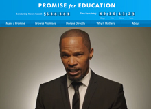 Jamie Foxx - Promise for Education