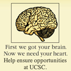 First we got your brain. Now we need your heart.