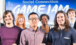 Masters game design students win contest