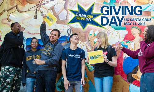 Are you game? UCSC holds its first Giving Day May 11