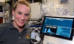 Astronauts sequence DNA with UCSC technology