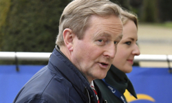 Donald Trump, Enda Kenny on a tense St. Patrick's Day