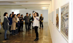 Gallery in DMZ features work by art professor